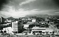 1938 CBS Radio on Sunset Blvd. in Hollywood