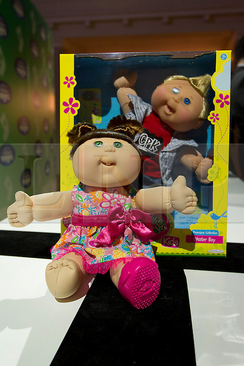 © Licensed to London News Pictures. 31/10/2012. London, UK. A Jakks Pacific 'Cabbage Patch Kid' (RRP GB£26.99) is seen at a Toy Retailers Association (TRA) fair in London today (31/10/12) as the organisation released its 13 Dream Toys for Christmas 2012. Photo credit: Matt Cetti-Roberts/LNP