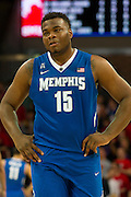 DALLAS, TX - FEBRUARY 01: Dominic Woodson #15 of the Memphis Tigers looks on against the SMU Mustangs on February 1, 2014 at Moody Coliseum in Dallas, Texas.  (Photo by Cooper Neill/Getty Images) *** Local Caption *** Dominic Woodson