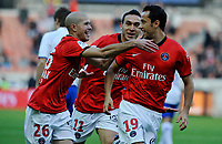 FOOTBALL - FRENCH CHAMPIONSHIP 2010/2011 - L1 - PARIS SAINT GERMAIN v AJ AUXERRE - 24/10/2010 - PHOTO GUY JEFFROY / DPPI - JOY PSG