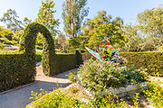 Children's Garden with a Butterfly Display