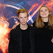 NLD/Amsterdam/20181009 - Imax vertoning First Man, Casper Feddema en Margot