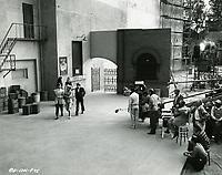 1955 Filming My Sister Eileen at Columbia Studios