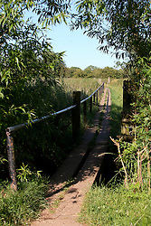 UK ENGLAND LEICESTERSHIRE SILEBY 30JUN15 - Elevated walkway through the meadows near the river Soar at Sileby,  Leicestershire.<br /> <br /> jre/Photo by Jiri Rezac / WWF UK<br /> <br /> © Jiri Rezac 2015
