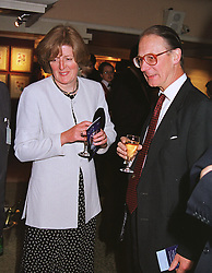 LORD & LADY FELLOWES, he was The Queen Private Secretary and she is the sister of the late Diana, Princess of Wales, at a gala evening in London on 9th June 1999.MSZ 41