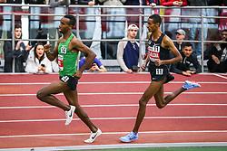 Bruce LeHane Invitational Mile, Yomif Kejelcha sets indoor mile world record 3:47.02, Nike, Nike OTC Elite, Oregon Project,