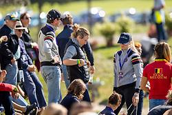de Liedekerke-Meier Lara, Meier Kay-Steffen, Loge Laura<br /> FEI EventingEuropean Championship <br /> Avenches 2021<br /> © Hippo Foto - Dirk Caremans<br />  24/09/2021