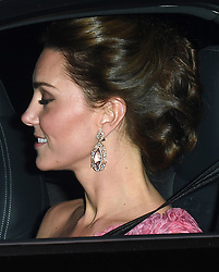 Members of The Royal Family leave Kensington Palace to attend Prince Charles 70th Birthday Party at Buckingham Palace, London, UK, on the 14th November 2018. 14 Nov 2018 Pictured: Catherine, Duchess of Cambridge, Kate Middleton. Photo credit: James Whatling / MEGA TheMegaAgency.com +1 888 505 6342