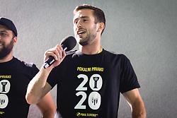 Alen Kozar of NŠ Mura during reception of NS Mura players after winning Slovenian cup, on June 25, 2020 in Fazanerija, Murska Sobota, Slovenia. Photo by Blaž Weindorfer / Sportida