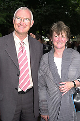 LORD & LADY BIRT the former Director General of <br /> the BBC, at a party in London on 5th July 2000.OGB 152<br /> © Desmond O'Neill Features:- 020 8971 9600<br />    10 Victoria Mews, London.  SW18 3PY <br /> www.donfeatures.com   photos@donfeatures.com<br /> MINIMUM REPRODUCTION FEE AS AGREED.<br /> PHOTOGRAPH BY DOMINIC O'NEILL
