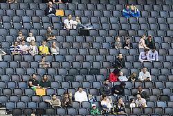 June 6, 2017 - Stockholm, SVERIGE - 170606 Publik pÃ¥ läktaren under en träning med Sveriges fotbollslandslag den 6 juni 2017 i Stockholm. (Credit Image: © Andreas L Eriksson/Bildbyran via ZUMA Wire)