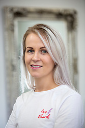 Ashley Toner, of Nail Anarchy, based at Hair plus in the Old School Business Park, Airdrie. She has been inundated with requests after Meghan Markle complimented her work during her recent visit to Scotland.