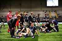 Fotball , NM G19 , Cupen Junior , <br /> Lørdag 21. November 2015, 20151121<br /> Rosenborg G19 - Strømsgodset G19<br /> Strømsgodsetspillerene etter tap 6-0 i Juniorfinalen<br /> Foto: Sjur Stølen / Digitalsport