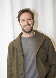 December 11, 2017 - FILE - Golden Globes 2018 Nominees - Nominated for Best Supporting Actor - September 8, 2017 - Toronto, Canada - Actor ARMIE HAMMER promotes the movie 'Call Me By Your Name' at The Toronto Film Festival. (Credit Image: © Armando Gallo via ZUMA Studio)