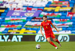 CARDIFF, WALES - Sunday, September 6, 2020: Wales' Ben Davies during the UEFA Nations League Group Stage League B Group 4 match between Wales and Bulgaria at the Cardiff City Stadium. (Pic by David Rawcliffe/Propaganda)