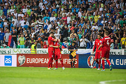 Players of England during the EURO 2016 Qualifier Group E match between Slovenia and England at SRC Stozice on June 14, 2015 in Ljubljana, Slovenia. Photo by Grega Valancic
