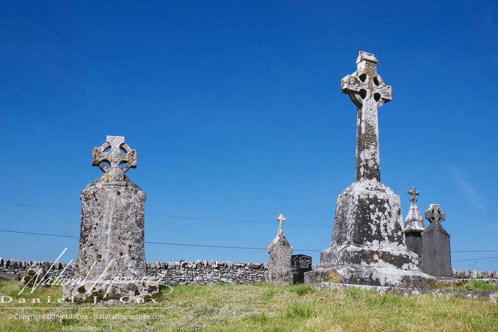 13th century Carron Church in the Burren, Co. Clare, Ireland