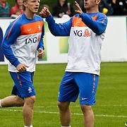 AUS/Seefeld/20100529 - Training NL Elftal WK 2010, Raphael van der Vaart