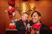 Family photos for Rocco's third birthday party at the Muhammad Ali Center and then at the Hard Rock Cafe in Fourth Street Live! Saturday, March 7, 2020, in Louisville, Ky. (Photo by Brian Bohannon)