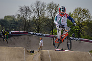 #279 (JONES Trent) NZL at the 2016 UCI BMX Supercross World Cup in Papendal, The Netherlands.