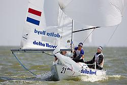 08_01021 © Sander van der Borch. Medemblik - The Netherlands,  May 21th 2008 . First day of the Delta Lloyd Regatta 2008.