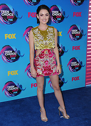 13 August  2017 - Los Angeles, California - Lucy Hale. Teen Choice Awards 2017 held at the Galen Center in Los Angeles. Photo Credit: Birdie Thompson/AdMedia *** Please Use Credit from Credit Field ***