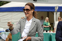 TRINNY WOODALL at the Macmillan Dog Day in aid of Macmillan Cancer Support held at the Royal Hospital Chelsea, London on 8th July 2008.<br />