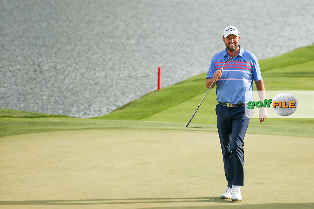 Marc Leishman (AUS) walking onto the 18th during the final round of the Arnold Palmer Invitational presented by Mastercard, Bay Hill, Orlando, Florida, USA. 08/03/2020.<br /> Picture: Golffile   Scott Halleran<br /> <br /> <br /> All photo usage must carry mandatory copyright credit (© Golffile   Scott Halleran)