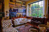 France, Eure (27), Giverny, maison du peintre Claude Monet, l'atelier // France, Eure (27), Giverny, house of the painter Claude Monet