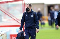 Bristol Rovers manager Ben Garner arrives - Mandatory by-line: Matt Bunn/JMP - 10/10/2020 - FOOTBALL - LNER Stadium - Lincoln, England - Lincoln City v Bristol Rovers - Sky Bet League One