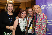 To celebrate 25 Years of MEDIA, The Creative Europe MEDIA Office Galway held theCreative EuropeMEDIA Co-Production Dinnerin Hotel Meyrickon Thursday the 7th of June as part of TheGalway Film Fleadh.<br /> At the event was Ohna Falby - Lift to Live Films<br /> Jessie Mangum - Goalpost Films and Beatrice Neumann - Adda.<br /> <br />  The networking dinner gives Fleadh goersprivileged access to the world's leading film Financiers and a fantasticopportunity to network with European Producers and Film Fair Financiers. Creative Europe MEDIA Office Galway offers comprehensive information on the European Union's Creative Europe Programme, offering advice, support and information on Creative Europe funding support for the audiovisual industries including film, television and games. The regional office is also available to respond to queries by phone or email. In addition to providing one-to-one advice sessions and events throughout the year. <br /> <br /> For further information contact Eibhlín Ní Mhunghaile on 091 770728 or via email oneibhlin@creativeeuropeireland.eu<br />  Photo: Andrew Downes XPOSURE
