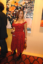 GIOVANNA TAYLOR wormer wife of Duran Duran star Roger Taylor at a party to celebrate the first year of ING's sponsorship of the Renault Formula 1 team, held at the Mayfair Hotel, Stratton Street, London W1 on 28th November 2007.<br />