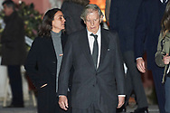 Fernando Falco attends Princess PIlar Borbon funeral chapel  installed in the Gomez-Acebo house on January 8, 2020 in Madrid, Spain