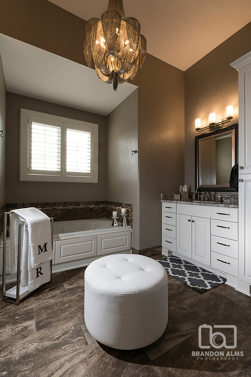 Master Bathroom photography by Brandon Alms
