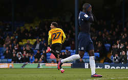 Jayden Mitchell-Lawson of Bristol Rovers celebrates scoring to make it 1-1 - Mandatory by-line: Arron Gent/JMP - 07/03/2020 - FOOTBALL - Roots Hall - Southend-on-Sea, England - Southend United v Bristol Rovers - Sky Bet League One