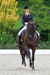 Houtvast Danielle (NED) - Rambo 475<br /> European Championships Junior 2010<br /> © Hippo Foto - Leanjo de Koster