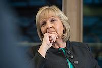 23 JAN 2017, BERLIN/GERMANY:<br /> Hannelore Kraft, SPD, Ministerpraesidentin Nordrhein-Westfalen, während einem Interview, Landesvertretung Nordrhein-Westfalen<br /> IMAGE: 20170123-02-008