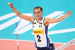 SARA ALBERTI (ITALIA)<br /> ITALIA - REPUBBLICA DOMINICANA<br /> PALLAVOLO VNL VOLLEY FEMMINILE 2019<br /> CONEGLIANO (TV) 28-05-2019<br /> FOTO FILIPPO RUBIN