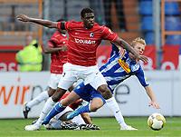 v.l. Mohamadou Idrissou, Dennis Grote Bochum<br /> Bundesliga VfL Bochum - SC Freiburg 1:2<br /> <br /> Norway only
