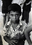 Carmen Bobocel en 1993 à l'orphelinat de Popricani.<br />