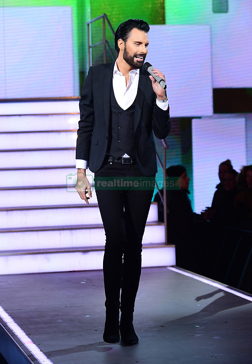 Presenter Rylan Clark during the Celebrity Big Brother Men's Launch held at Elstree Studios in Borehamwood, Hertfordshire. PRESS ASSOCIATION Photo. Picture date: Friday January 5, 2018. See PA story SHOWBIZ CBB Housemates. Photo credit should read: Ian West/PA Wire