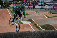 #555 (BATEY Kelvin) IRL at the 2016 UCI BMX World Championships in Medellin, Colombia.