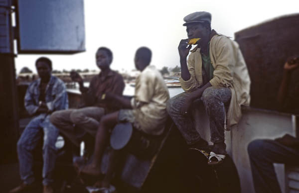 The Ferry on the Gambia River - African Portraits Series