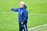Football - 2020 / 2021 Sky Bet Championship - Swansea City vs Cardiff City - Liberty Stadium<br /> <br /> Cardiff City manager Mick McCarthy on the touchline in the South Wales local derby match<br /> <br /> COLORSPORT/WINSTON BYNORTH