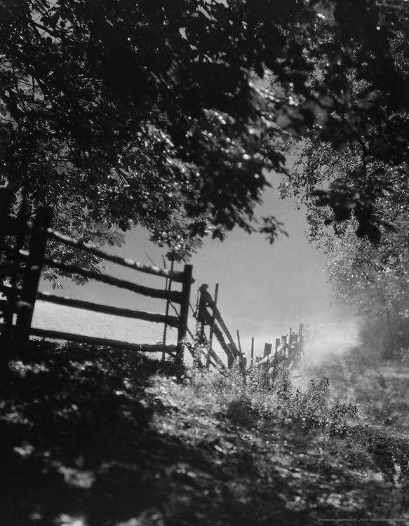 A New Hampshire Autumn Morning, USA, 1927