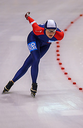 05-01-2003 NED: Europees Kampioenschappen Allround, Heerenveen<br /> 5000 meter dames / Annette Bjelkevik NOO
