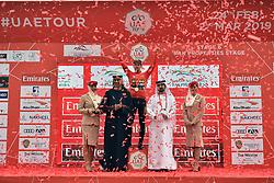 March 1, 2019 - Dubai, Emirati Arabi Uniti, Emirati Arabi Uniti - Foto LaPresse - Massimo Paolone.1 Marzo 2019 Emirati Arabi Uniti.Sport Ciclismo.UAE Tour 2019 - Tappa 6 - da Ajman a Jebel Jais -.180 km.Nella foto: Primoz ROGLIC TEAM JUMBO - VISMA vince la sesta tappa..Photo LaPresse - Massimo Paolone.March 1, 2019 United Arab Emirates.Sport Cycling.UAE Tour 2019 - Stage 6 - Ajman to Jebel Jais - 111,8.miles.In the pic: Primoz ROGLIC TEAM JUMBO - VISMA wins stage 6 (Credit Image: © Massimo Paolone/Lapresse via ZUMA Press)