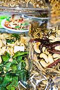 Gung saep song krueng at Rimtang restaurant, Phuket Old Town
