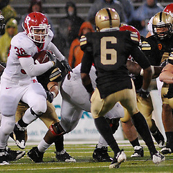 Oct 23, 2009; West Point, N.Y., USA; Rutgers running back Joe Martinek (38) rushes during Rutgers' 27 - 10 victory over Army at Michie Stadium.