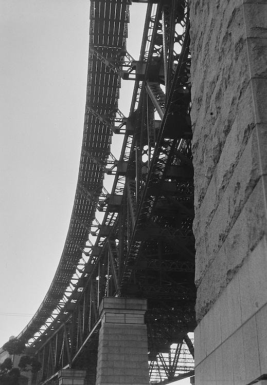Span of the New Bridge, Sydney, Australia, 1930